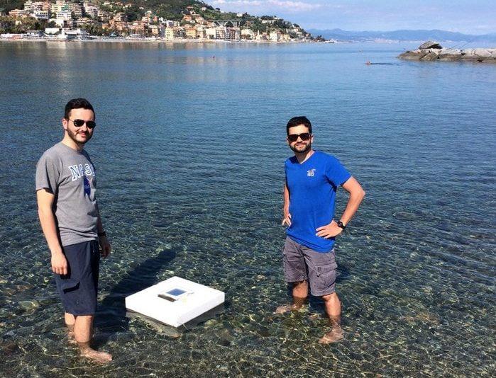 eau potable mer ocean sel salee