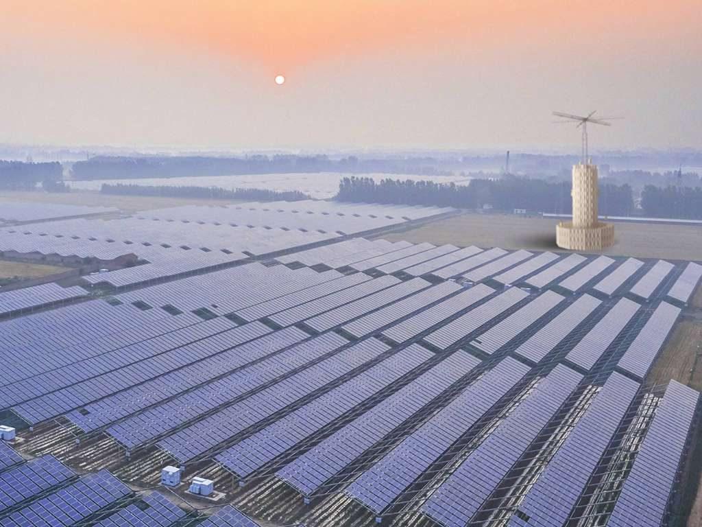 energy vault dans solar plant panneaux solaires