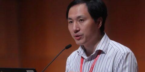 he jiankui chercheur scientifique embryons modification genetique bebe crispr-cas9