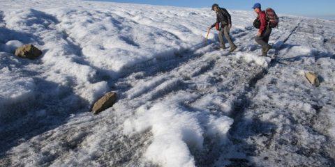 calotte glaciere fonte glace ile baffin rechauffement climatique changement climat