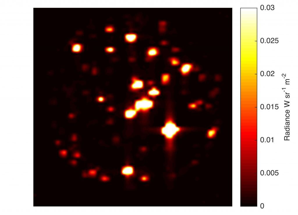 jovian infrared auroral mapper jiram infrarouge io jupiter