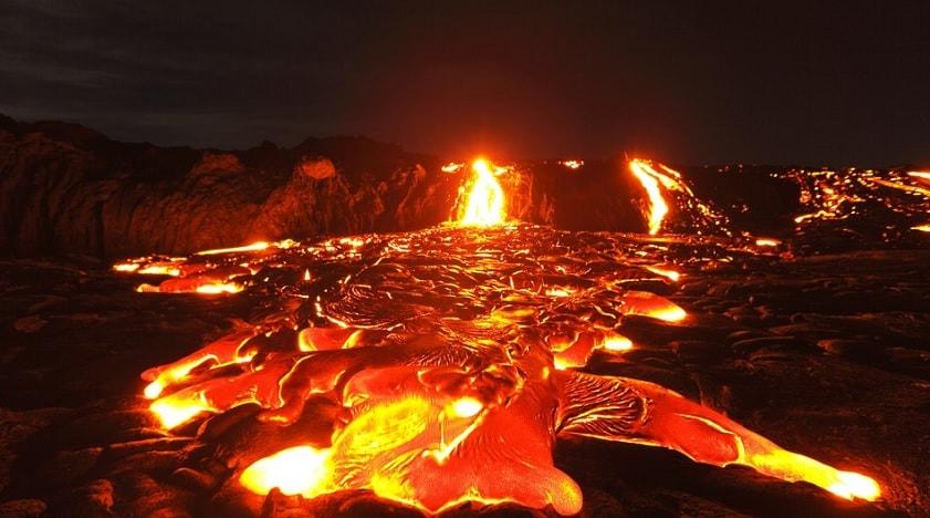 lave volcan kilauea