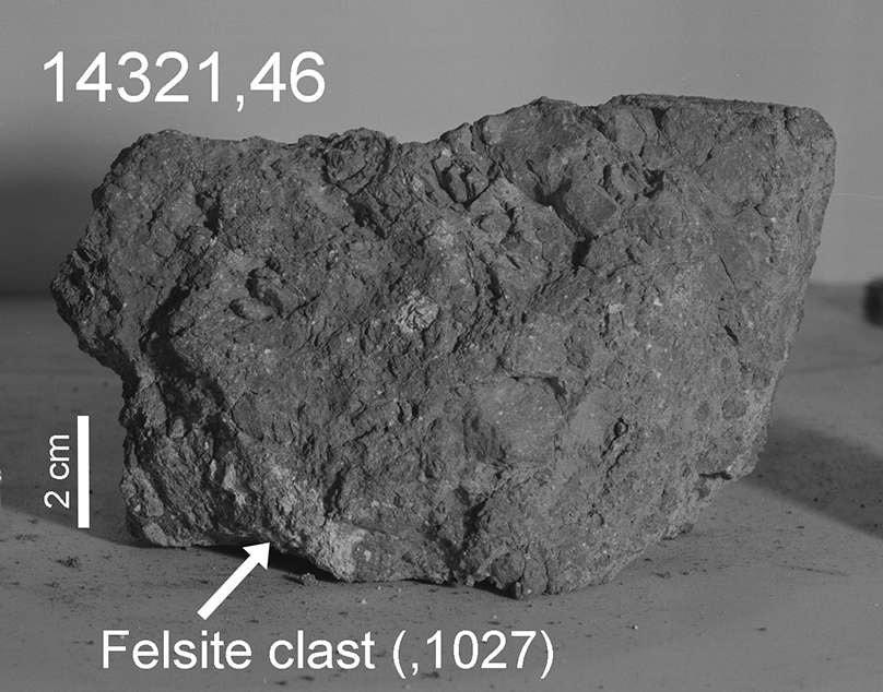 morceau roche terre