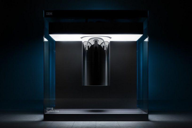ordinateur quantique qubits ibm q system one