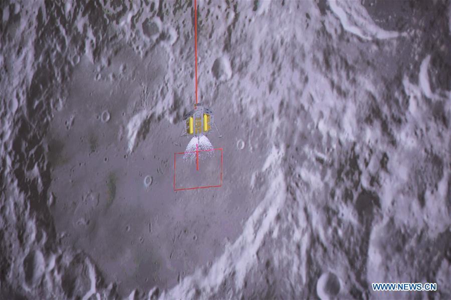 point atterrissage sonde change 4 lune