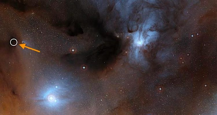 region formation etoiles rho ophiuchi IRAS16293-2422-B