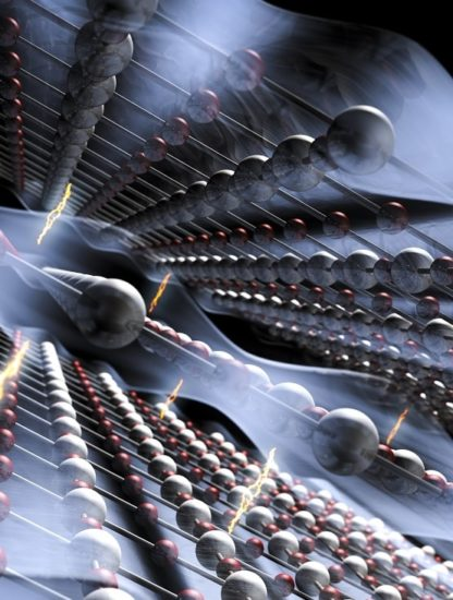 supraconductivite electrons atomes
