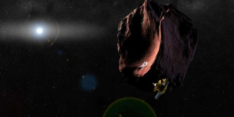 survol ultima thule