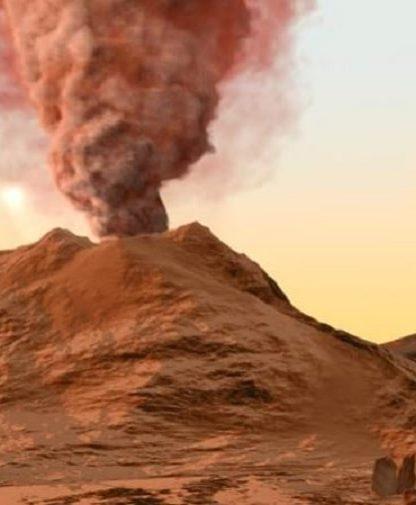 activite volcan mars