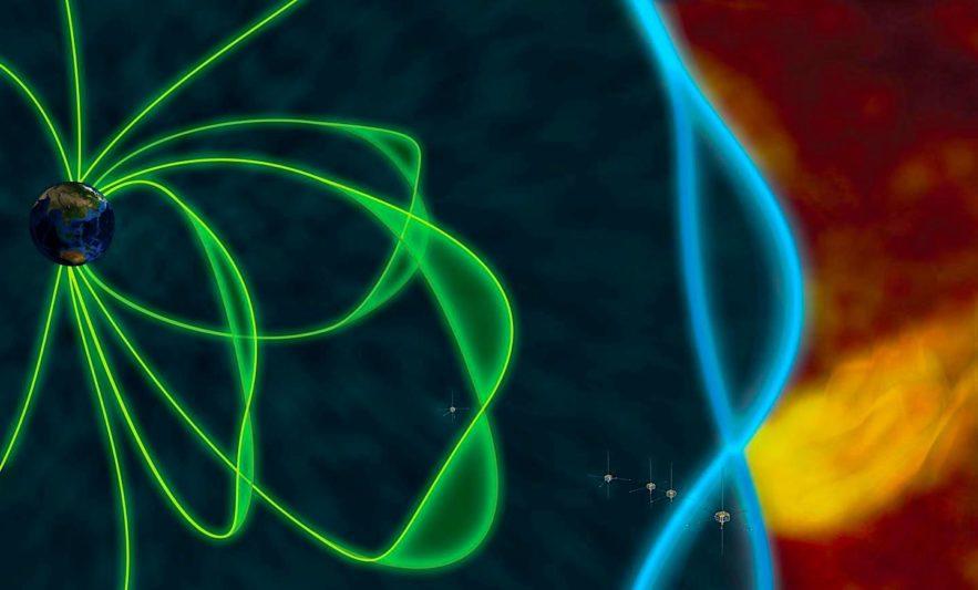 impact jet plasma resonnance tambour magnetopause