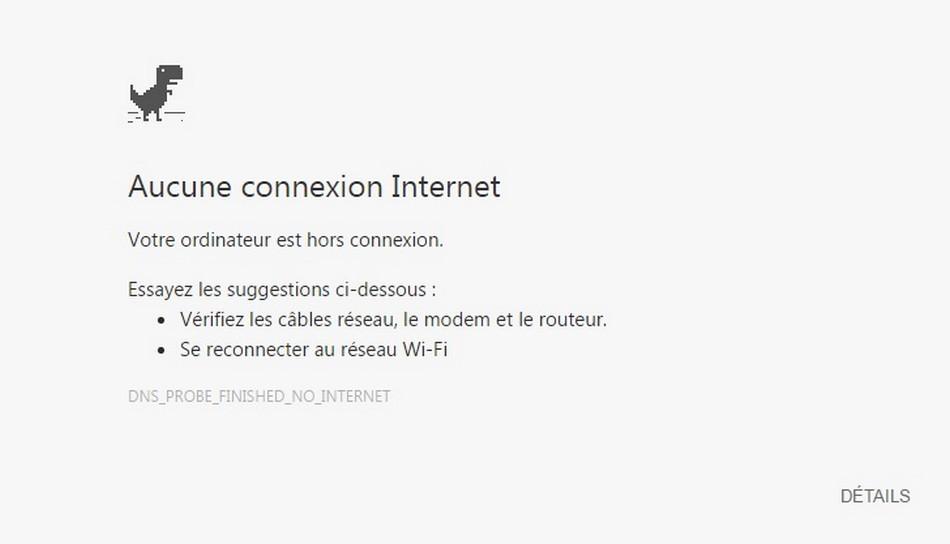 internet connexion disparition conséquences
