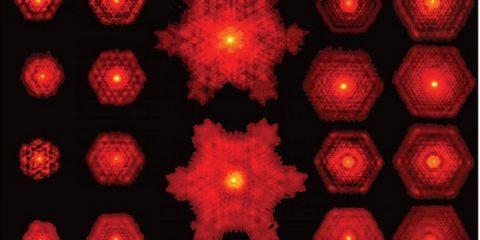 laser fractales lumiere