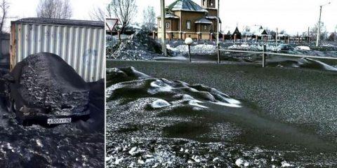 neige noire siberie