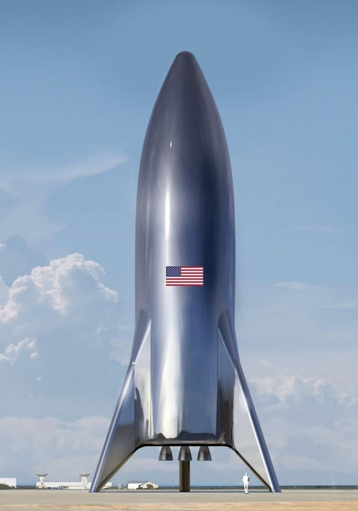 spacex starship alpha