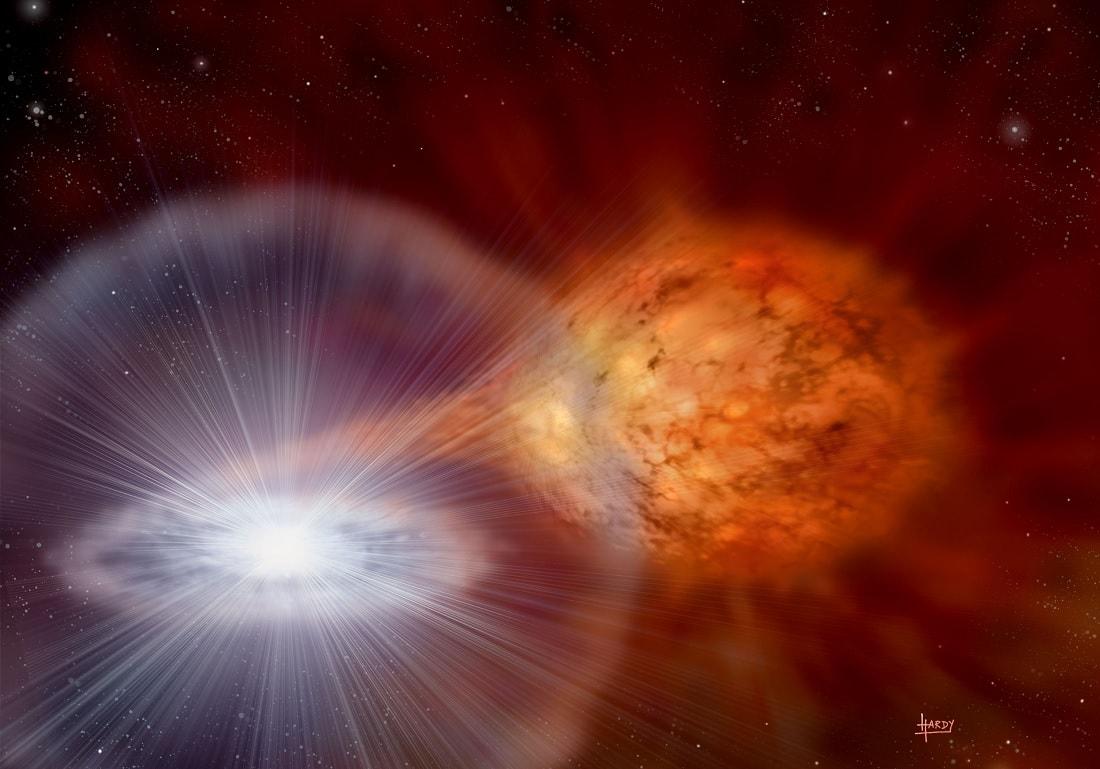 supernova etoile zombie