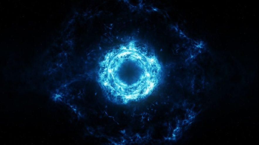 trou noir virtuel