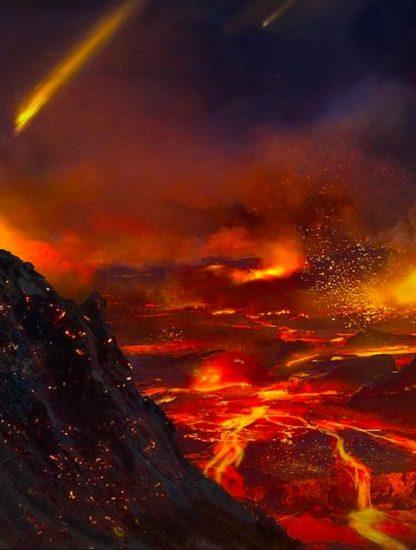 Dryas recent comete extinction