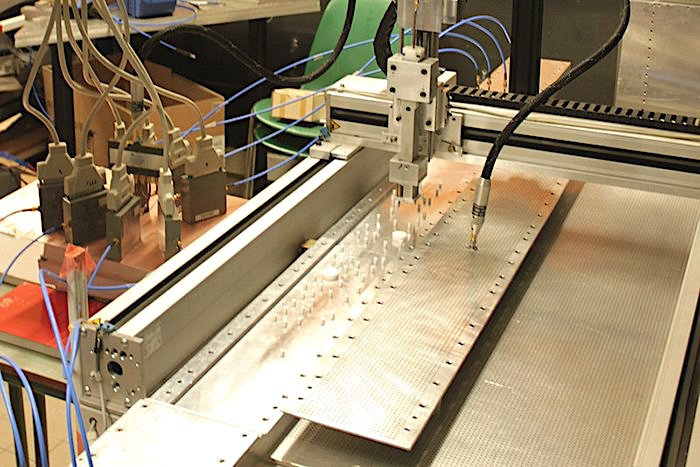 prototype anti laser configuration