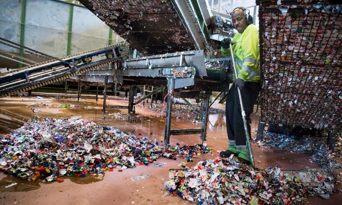 recyclage bouteilles plastique norvege