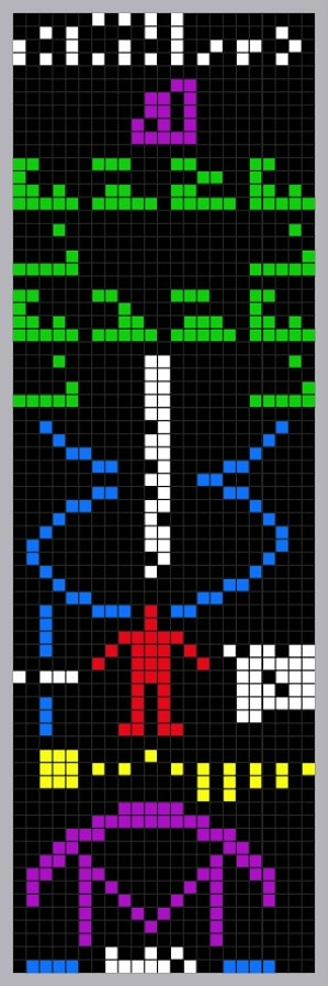 message arecibo images