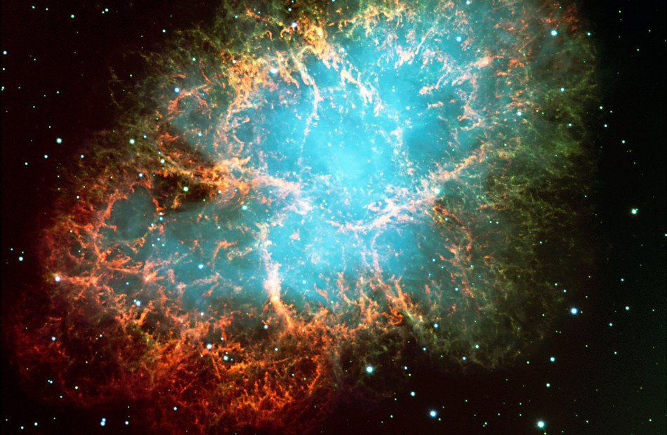 nebuleuse crabe supernova explosion stellaire etoile galaxie voie lactee