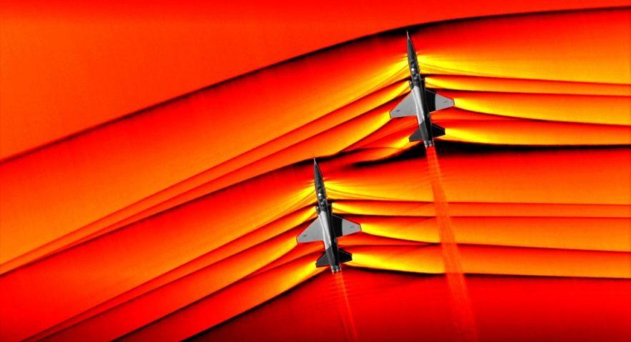 ondes interaction avions supersoniques