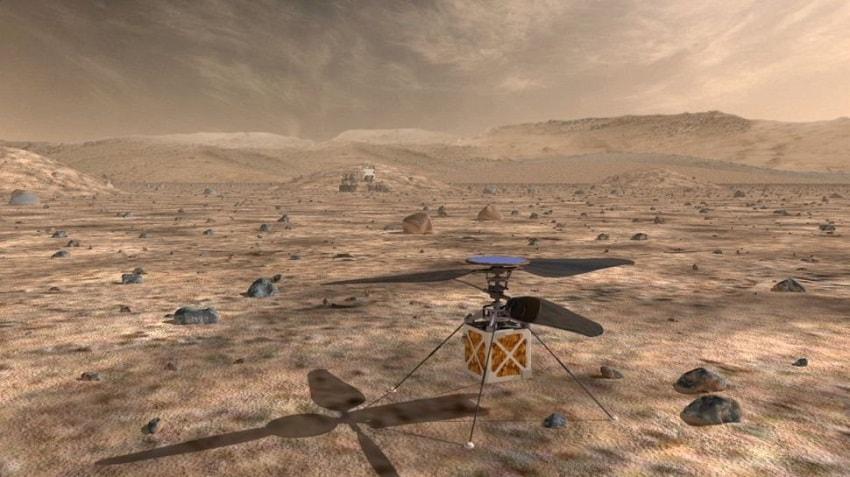 prototype helicopere mars
