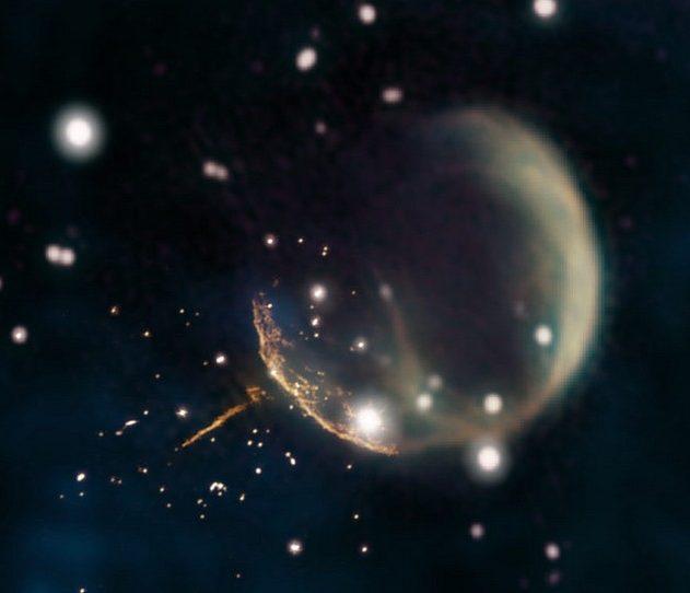 supernova pulsar etoile neutron neutrons