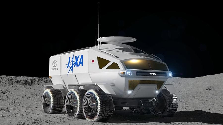 rover lunaire toyota