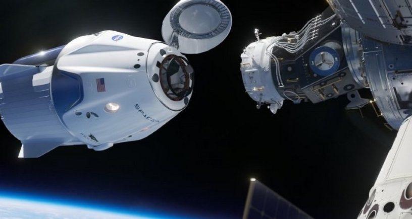 station spatiale internationale elon musk nasa spacex crew dragon