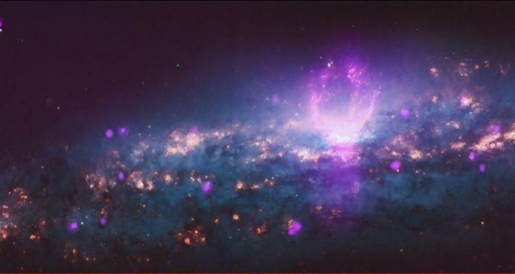 superbulles galaxie synchrotron