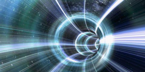 tunnel effet tunneling electron particules atomes vitesse lumiere physique qunatique