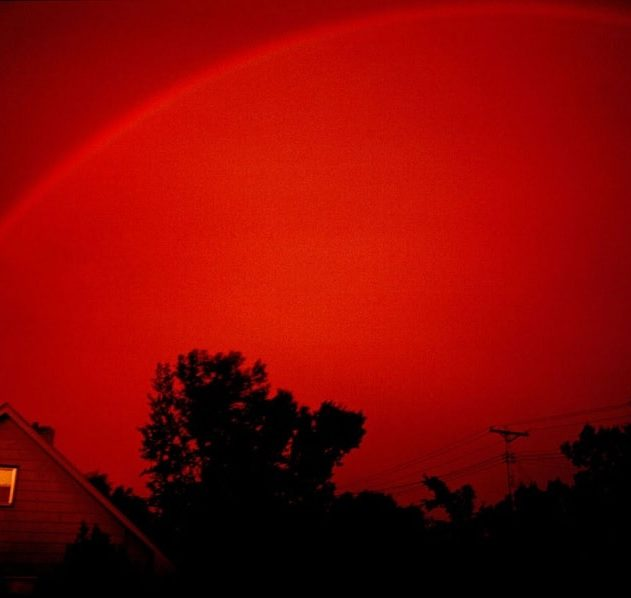 arc en ciel monochrome