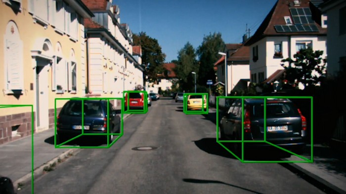 detection 3d camera stereo lidar voiture autonome
