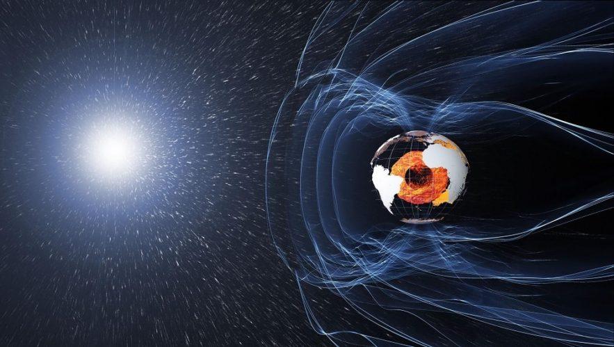 deplacement pole nord magnetique