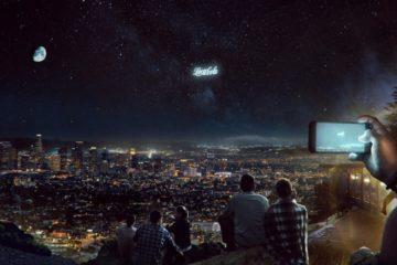 entreprise publicite orbitale orbite satellite campagne publicitaire