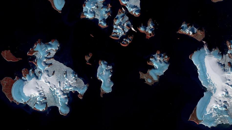 fonte glacier elevation niveau mer rechauffement climatique changement climat
