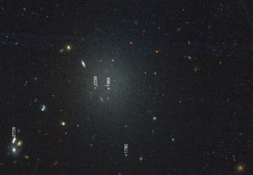 galaxie df4 matiere noire