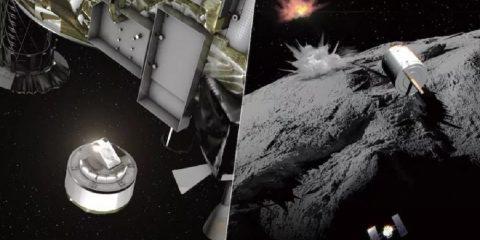 hayabusa2 cratere ryugu