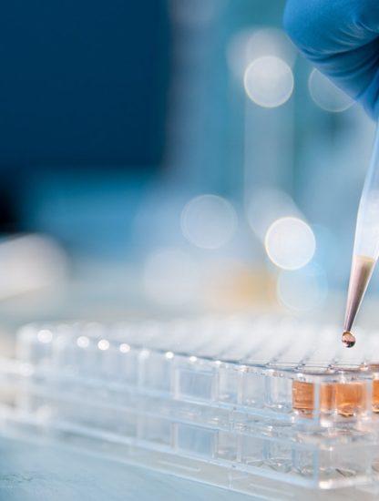 laboratoire fioles