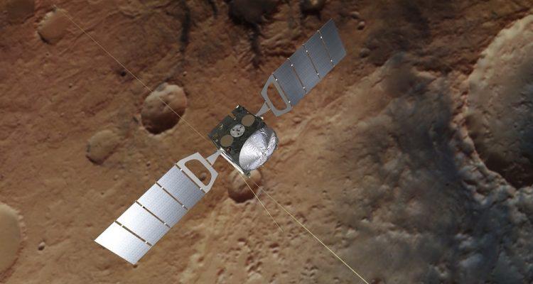mars express methane