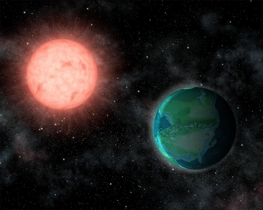 naine rouge exoplanetes