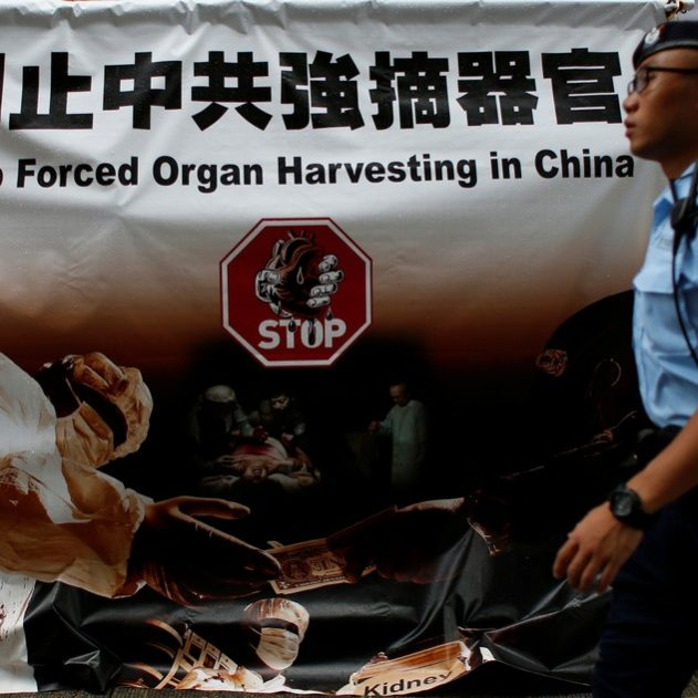 prelevement organes chine force prisonniers