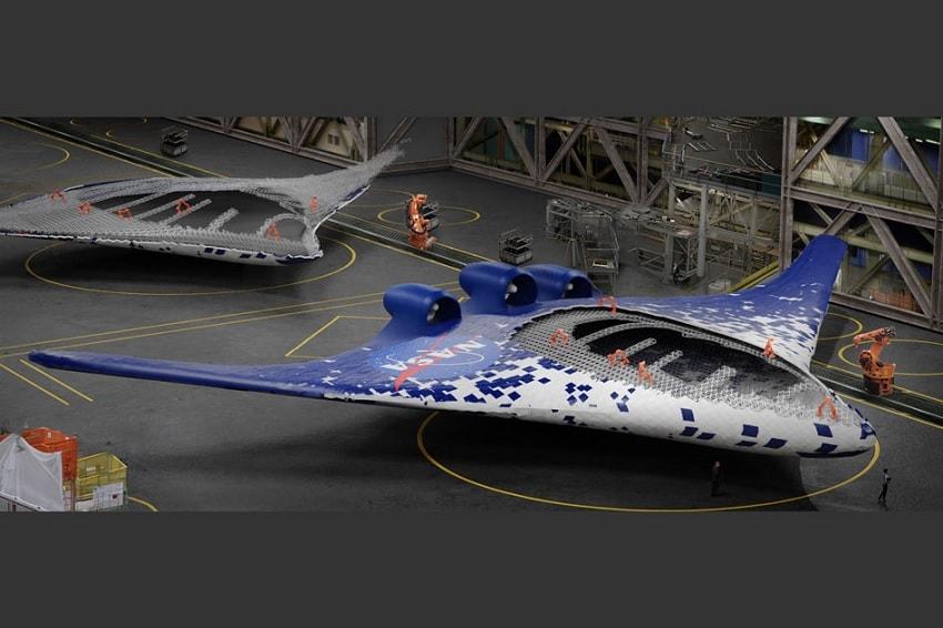 prototype aile avion