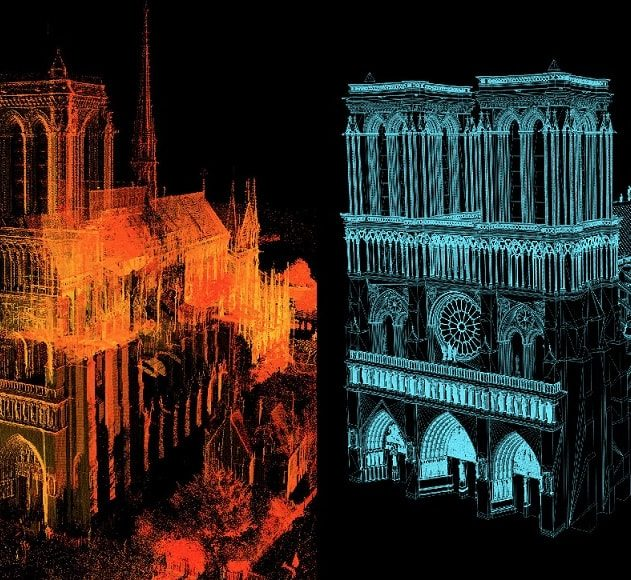 scans 3d cathedrale