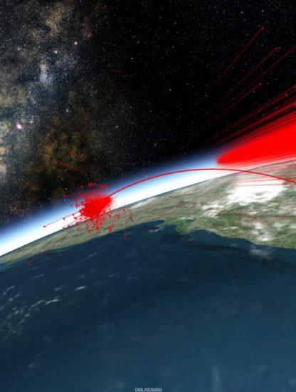 simulation debris mission shakti destruction satellite