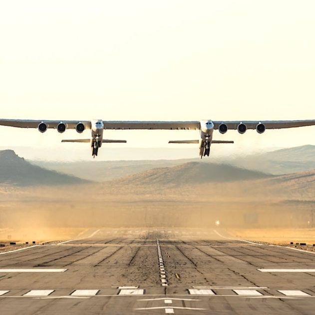 stratolaunch plus grand avion au monde premier vol