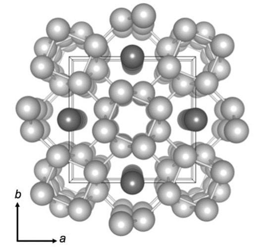 structure potassium atomes
