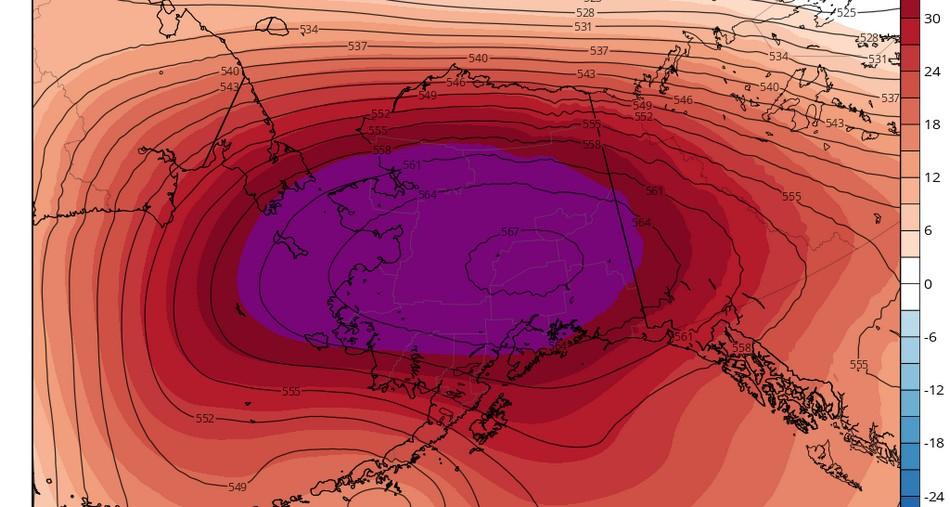 temperature rechauffement climatique alaska