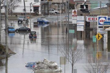 augmentation niveau mer